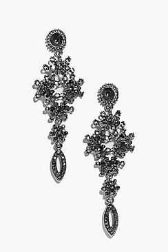 Lydia Statement Diamante Earrings