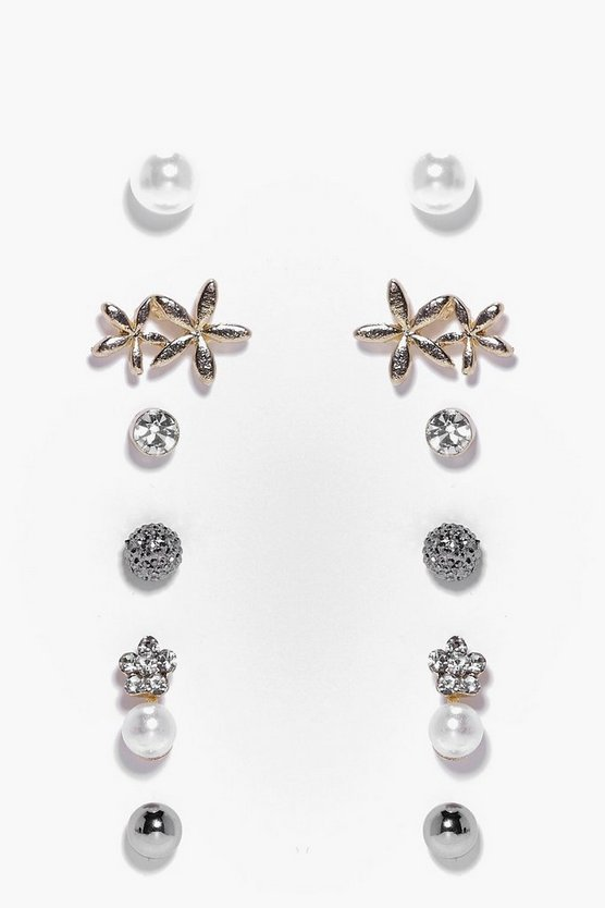 Taylor Double Stud Earring Set