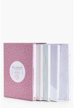 Slogan Front Mini Notebook Set