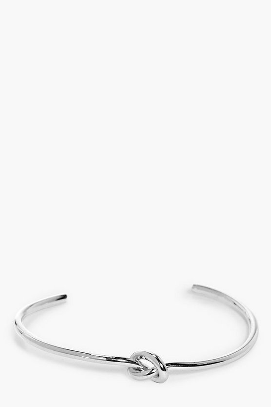 Heidi Skinny Knot Bangle