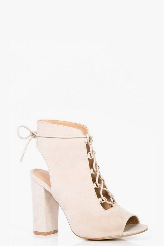 Tia Wide Fit Lace Up Shoe Boot