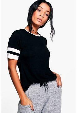 Molly Short Sleeve Stripe Tee