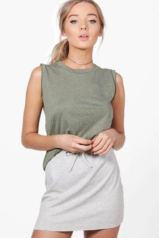 Rachel Raw Edge Marl Vest