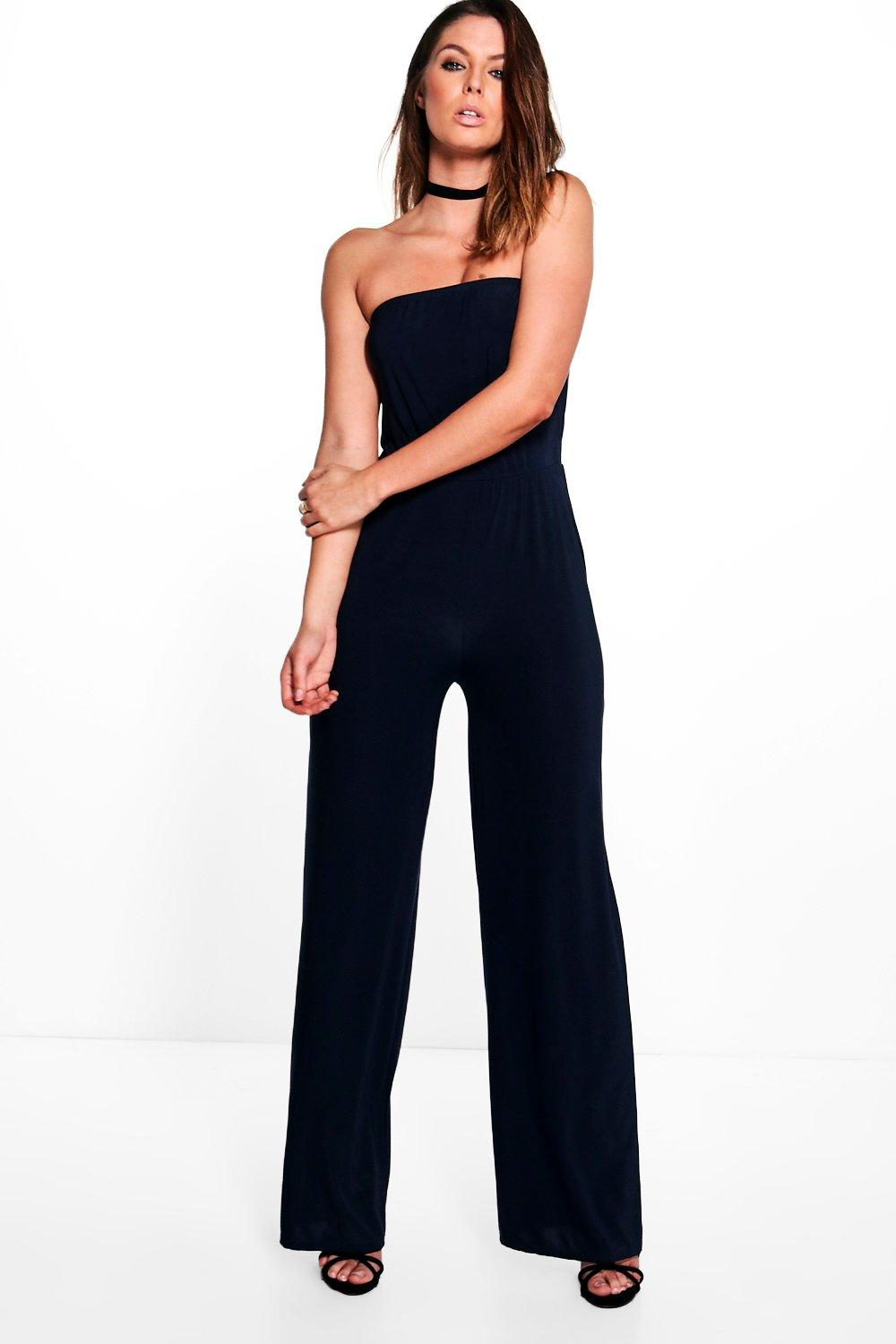 Wide Leg Jumpsuits. Styles Found. Your wardrobe is screaming for you to step up your jumpsuit game. Be prepared, a wide leg jumpsuit is the new 'IT' piece to have in your closet and we've collaborated the best of the best into one place in order for you to shop with ease. From cool culotte styles you can dress up or down creating chic.
