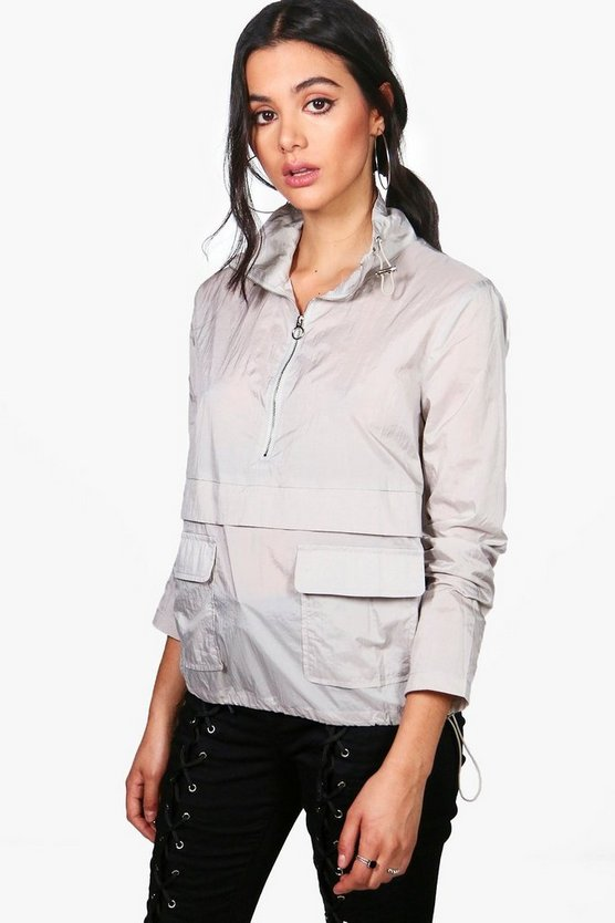 Alison Overhead Zip Sports Jacket