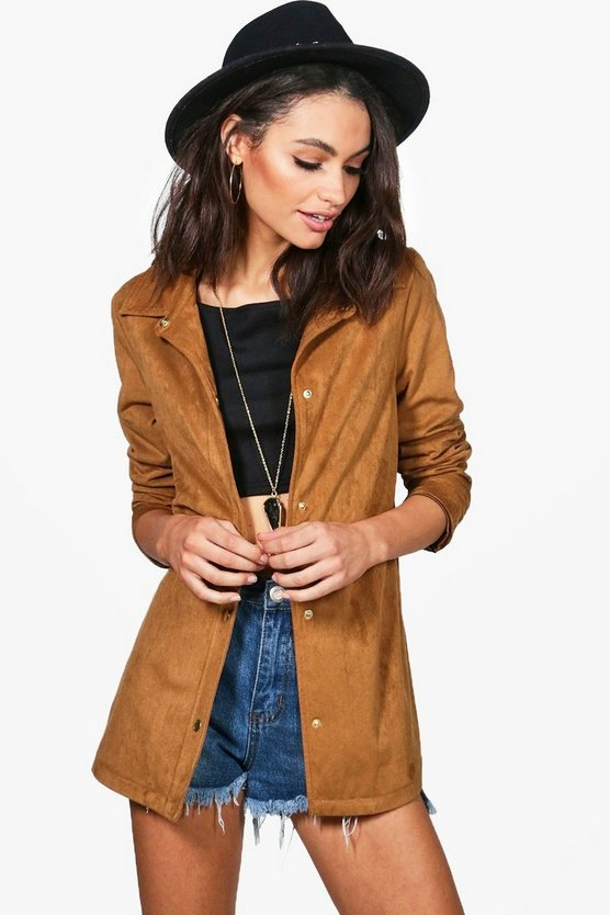 Scarlett Faux Suede Shacket