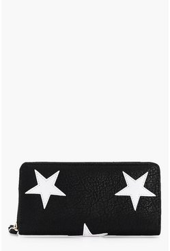 Amber Zip Around Star Purse