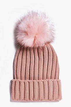 Georgia Single Pom Beanie