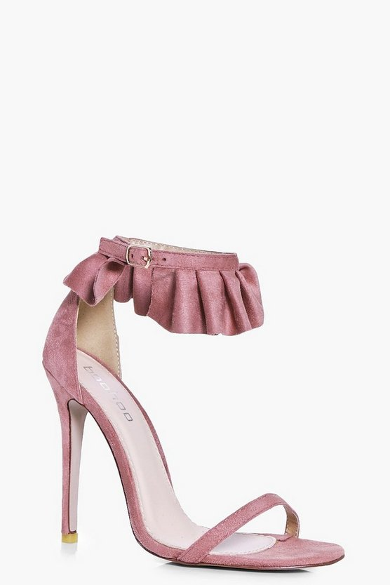 Vanessa Frill Cuff Two Part Sandal