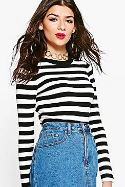 Lottie Breton Striped Long Sleeve Jumper