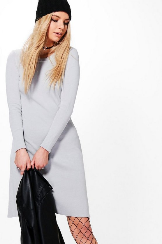 Sophie Skinny Fit Bodycon Knitted Dress