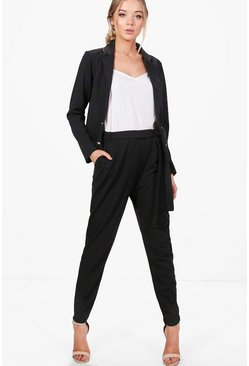 Laura Belted Skinny Trouser