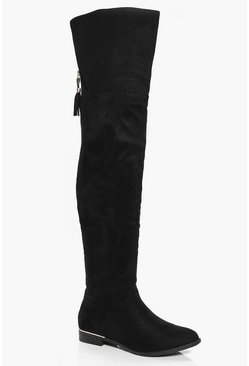Iris Flat Over The Knee Boot