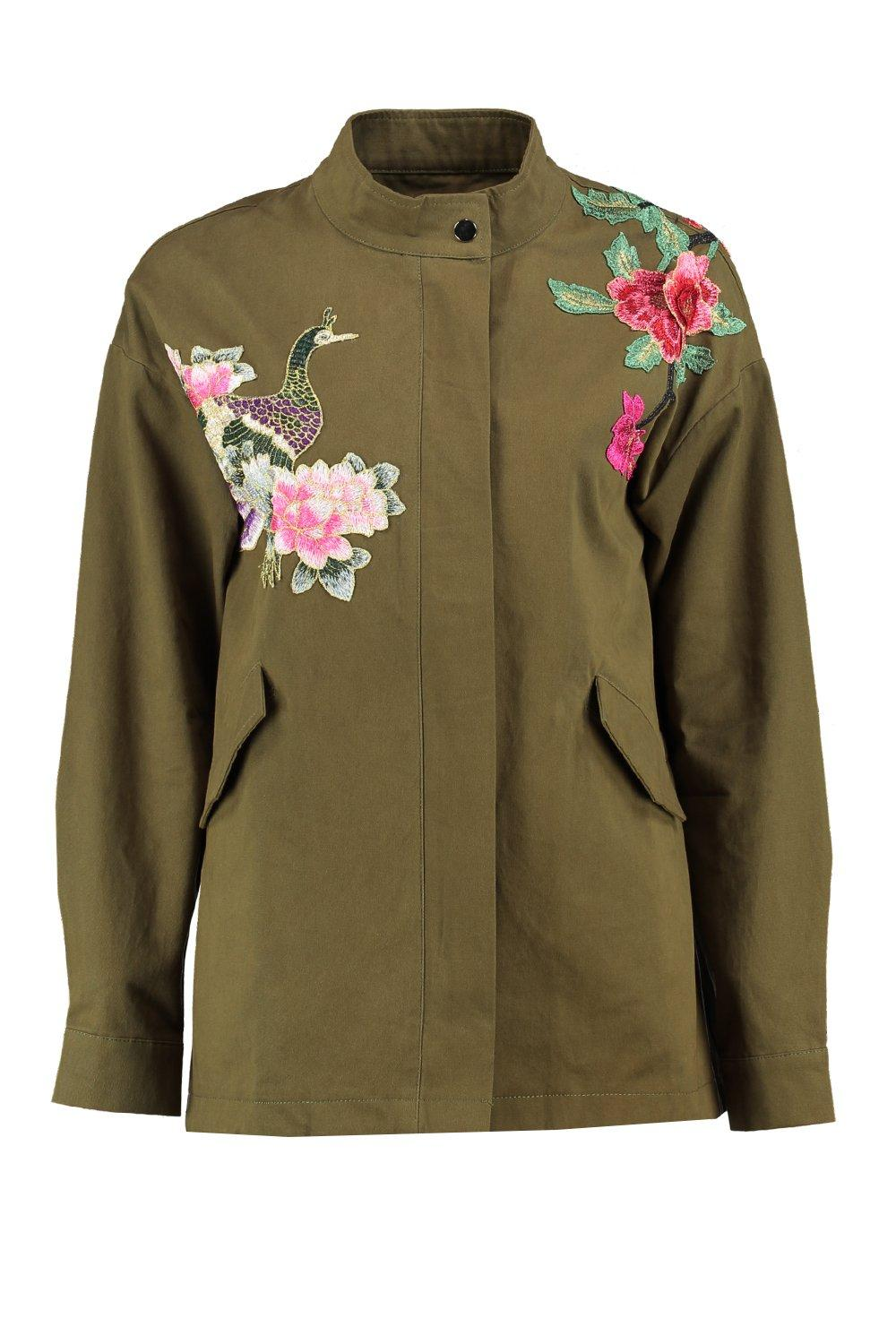 Womens floral jacket