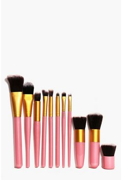 11 Piece Make Up Brush Set
