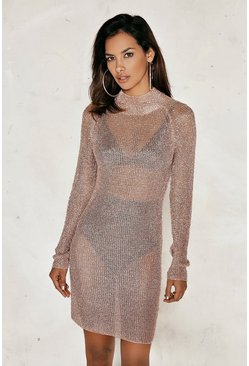 Melissa Metallic Dress