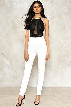 Niamh High Waisted Skinny Leg Trouser