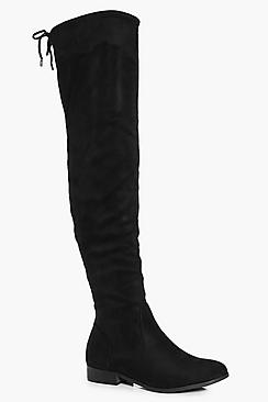 Frances Flat Over The Knee Boot