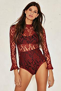 Isla All Over Lace Bodysuit