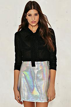 Glitter Metallic Blouse