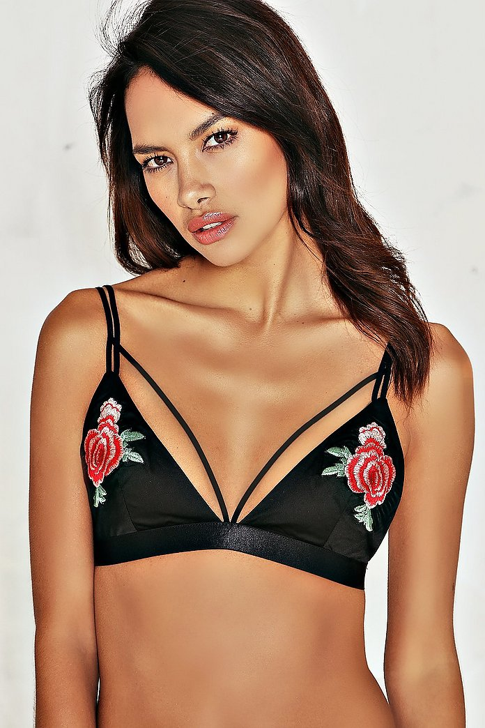 Dina Embroidered Bralette
