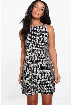 Daniella Sleeveless Shift Dress