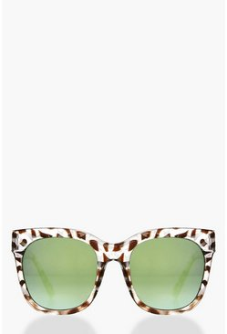 Neve Animal Print Revo Lense Sunglasses