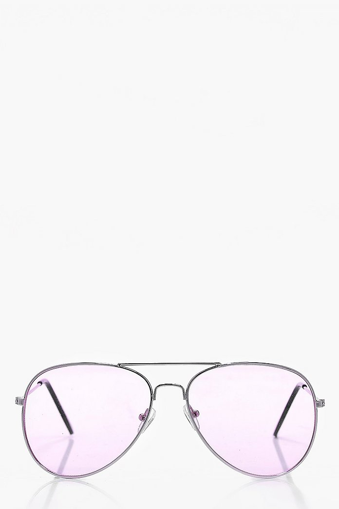 Connie Pastel Aviator Sunglasses