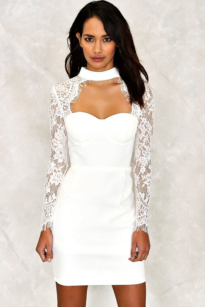 Lace is More Bodycon Dress