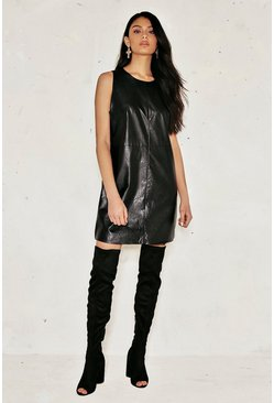 Kelly Vegan Leather Dress