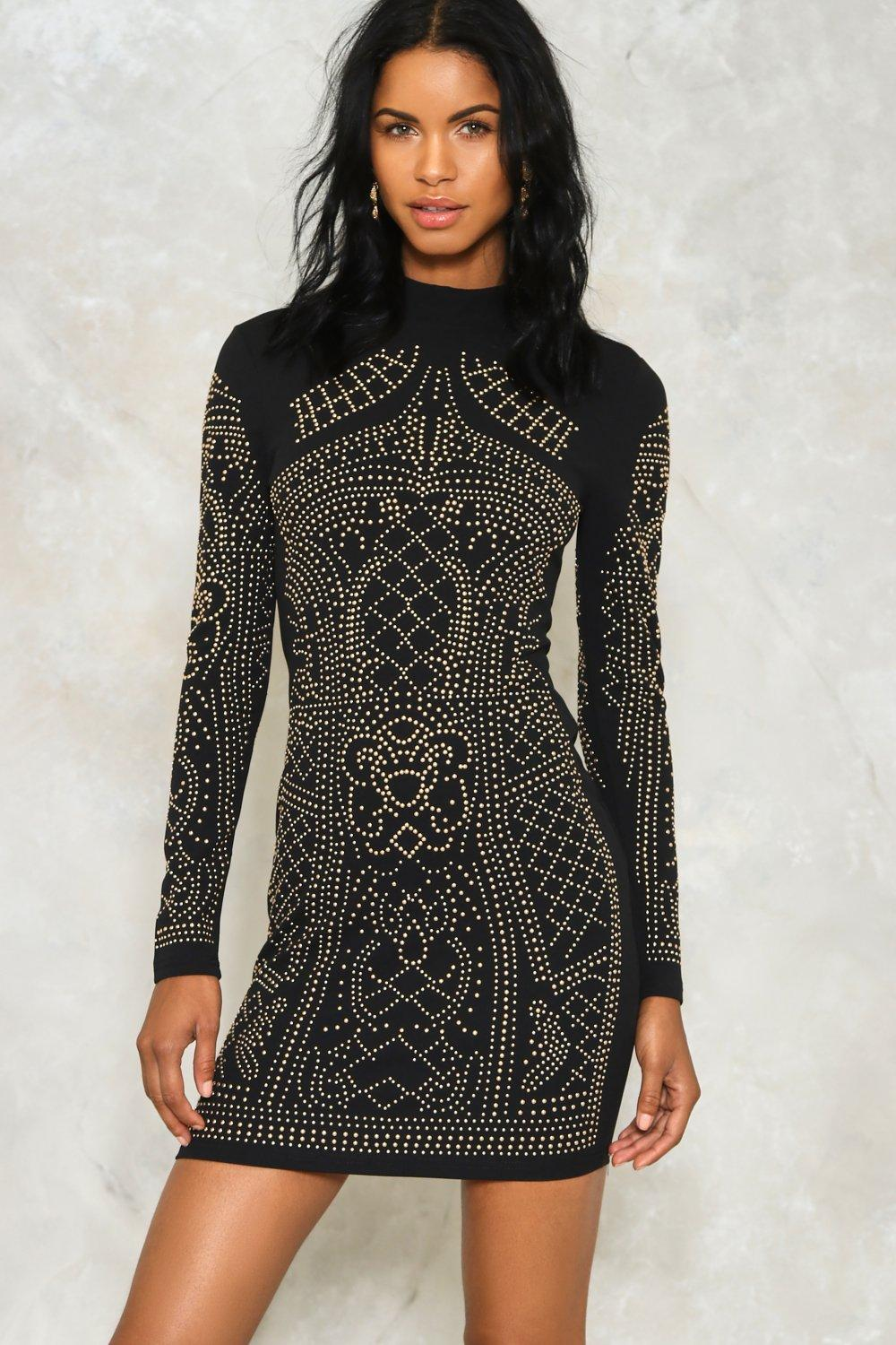 Tell Me About It Studded Dress | Shop Clothes at Nasty Gal!