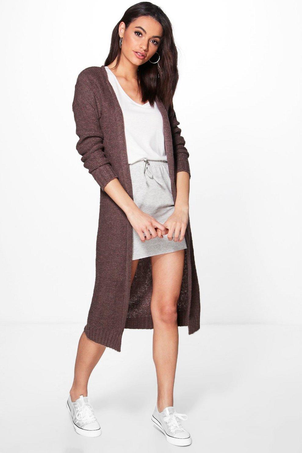 Alexandra Soft Knit Maxi Cardigan | Boohoo