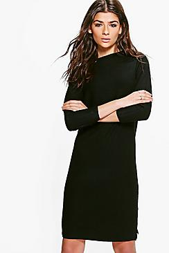 Natalia Ribbed Super Soft Jumper Dress
