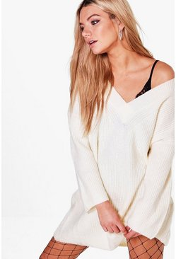 Sofia Oversized Jumper Dress
