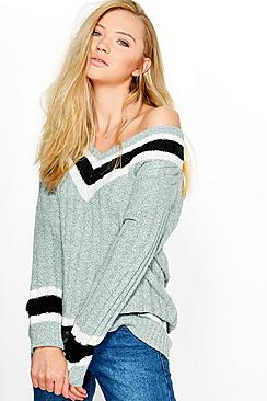 Louise Oversized Cricket Jumper