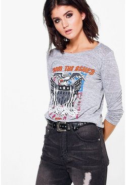 Katie From The Ashes Band Knit Top