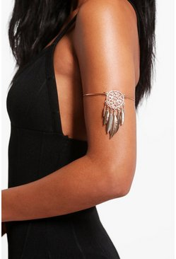 Heidi Dreamcatcher Feather Arm Cuff