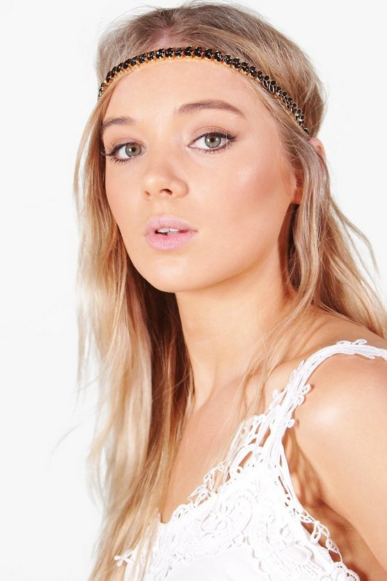 Hollie Leaf Detail Head Chain