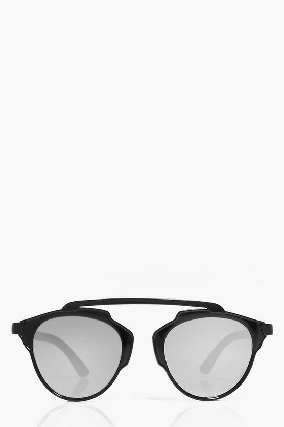 Megan Matte Brow Bar Aviator Fashion Glasses
