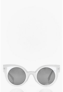 Ivy Exaggerated Cut Out Cat Eye Sunglasses