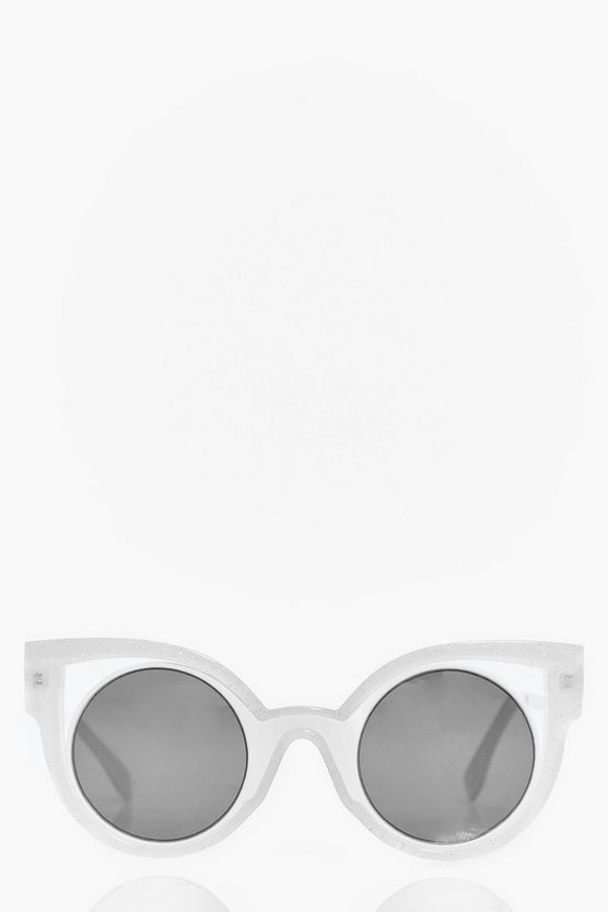 Ivy Exaggerated Cut Out Cat Eye Fashion Glasses