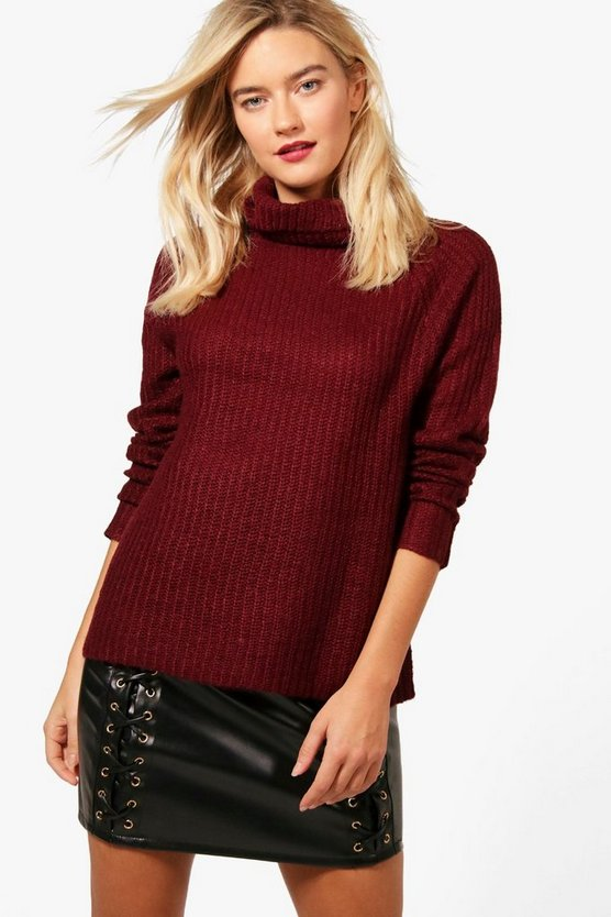 Ella Soft Knit Turtle Neck Jumper