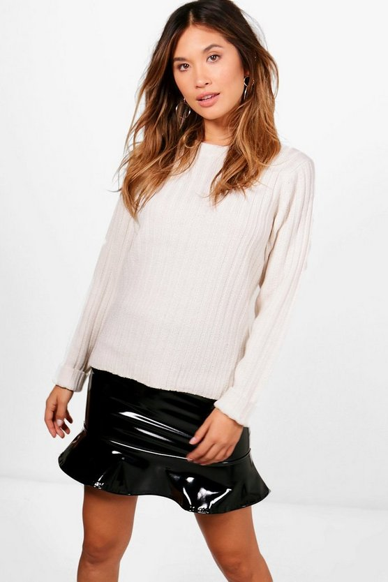 Abigail Rib Stitch Jumper