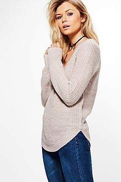 Hannah V-Neck Jumper