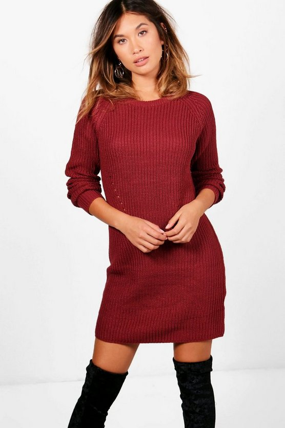 Florence Marl Jumper Dress