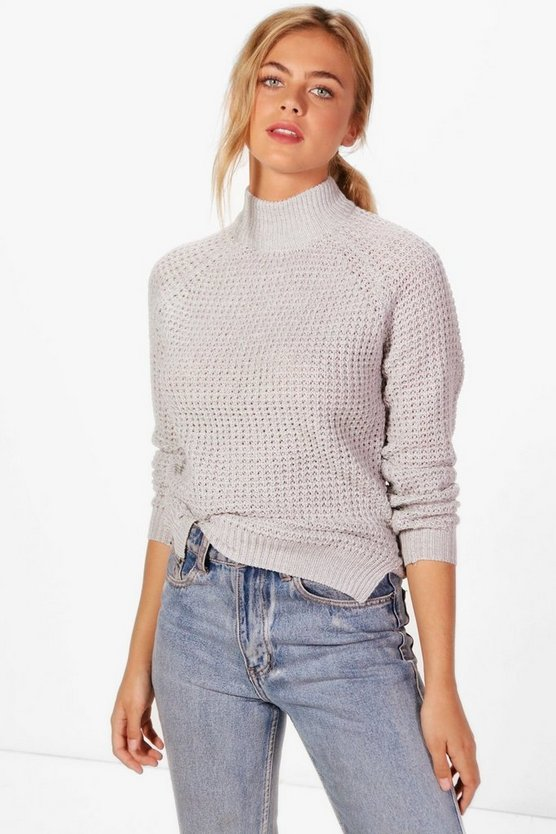 Nichole Turtle Neck Fisherman Jumper