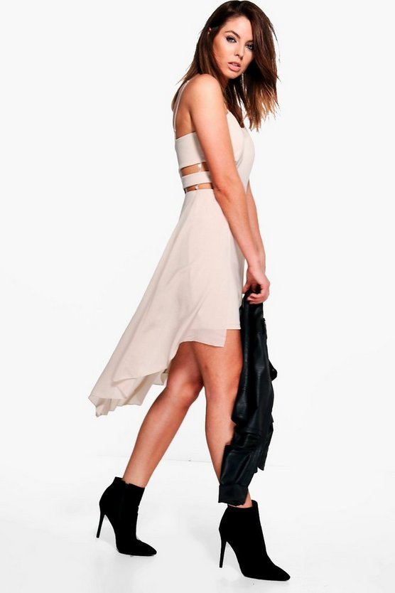 Hayley Cut Side Mixi Dress
