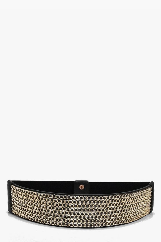 Isabella Chainmail Statement Waist Belt