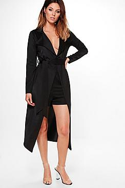 Willow Wrap Tie Duster & Shorts Co-ord