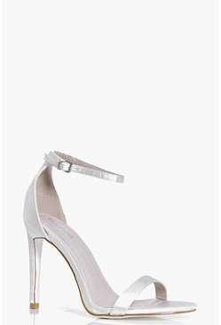 Rosie Bridal Satin Glitter Sole Two Part